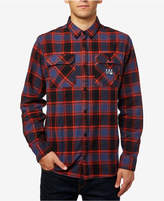 Fox Men's Trail Dust Plaid Flannel Shirt