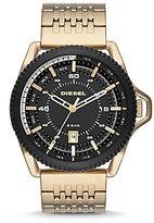 Diesel Rollcage Analog & Date Bracelet Watch