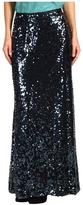 Calvin Klein Sequin Maxi Skirt (Deep Sea) - Apparel
