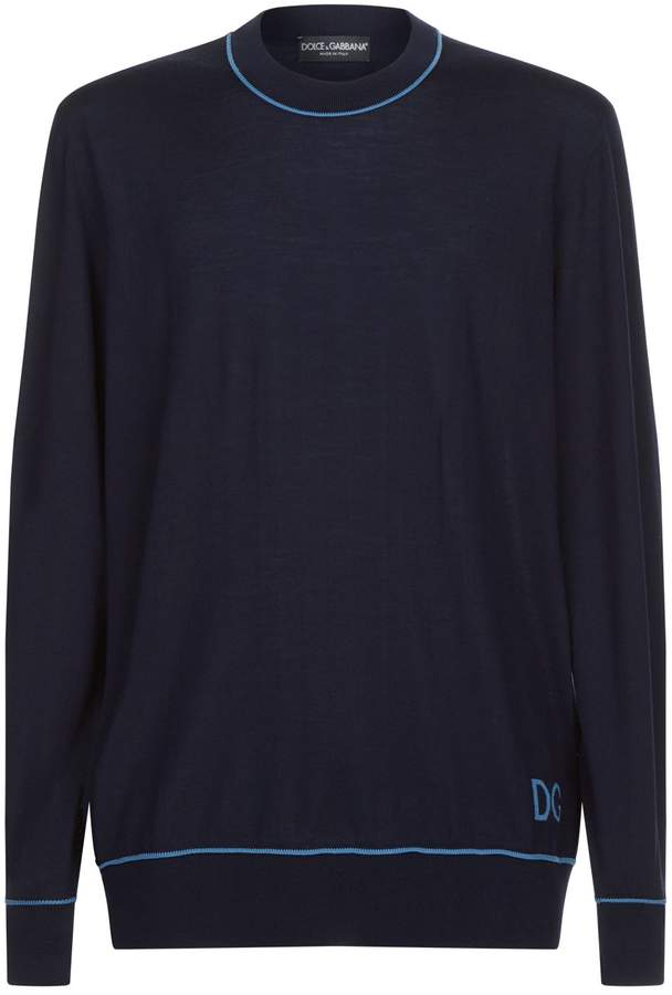 Dolce & Gabbana Virgin Wool Sweater