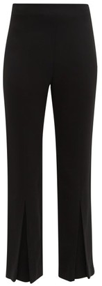 Roland Mouret Salthill Pleated-cuff Trousers - Black