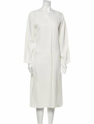 Zero Maria Cornejo Luca Midi Length Dress w/ Tags White