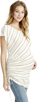 Motherhood Jessica Simpson Sie Tie Maternity Top