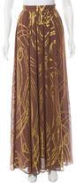 Rachel Zoe Silk Brocade Skirt w/ Tags