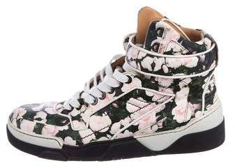 Givenchy Tyson Floral Print Sneakers