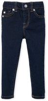 7 For All Mankind Toddler Girls) Supper Skinny Jeans