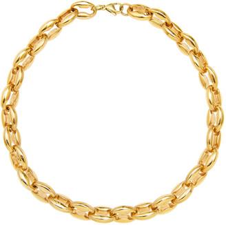 Fallon Toscano Chain Choker Necklace