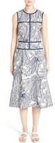 Lafayette 148 New York Women's Damaris Fil Coupe Dress