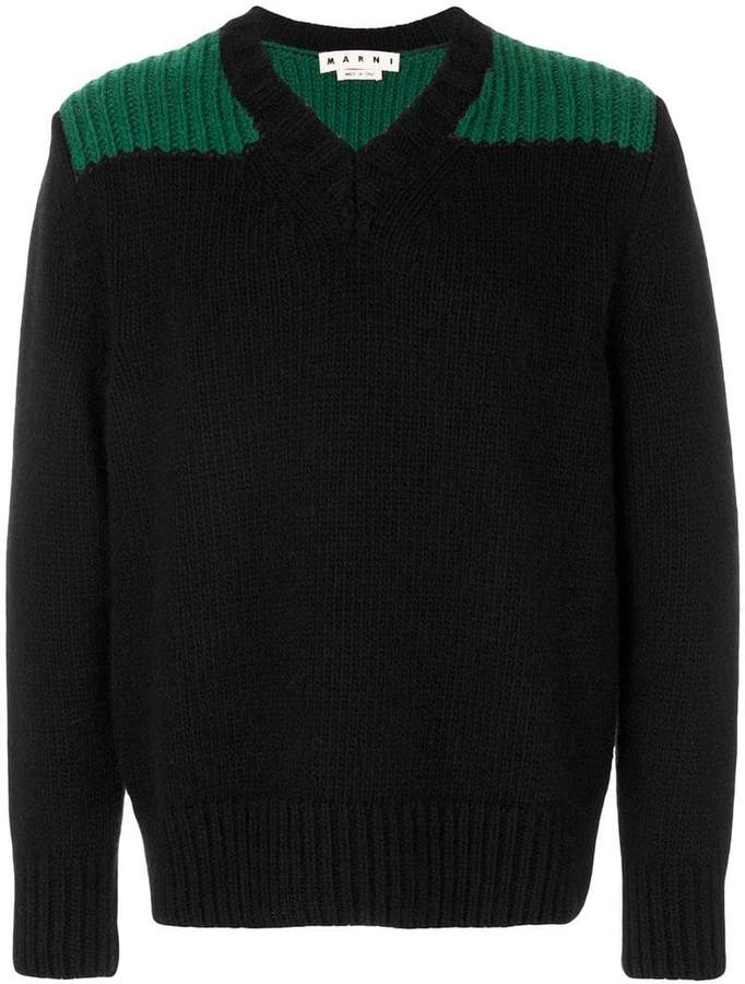 Marni V-neck jumper