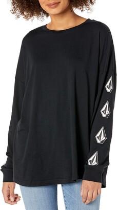 Volcom Women's Deadly Stones Ls T-Shirt