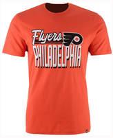 '47 Men's Philadelphia Flyers Script Splitter T-Shirt