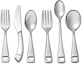 Oneida Little Love Heart 6-Piece Baby Stainless Steel Flatware Set