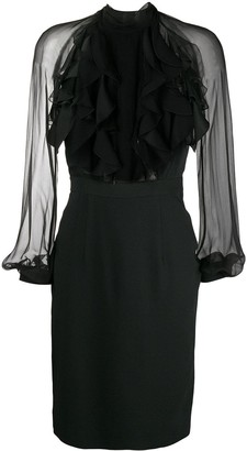 DSQUARED2 Ruffled Front Dress