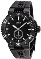 Oris Men's 73976747754RS Aquis Analog Display Swiss Automatic Black Watch