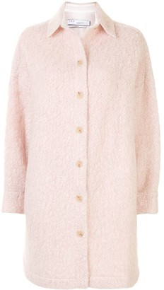 IRO Midi Tweed Overcoat