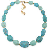 Lauren Ralph Lauren Paradise Found Turquoise Stone Collar Necklace
