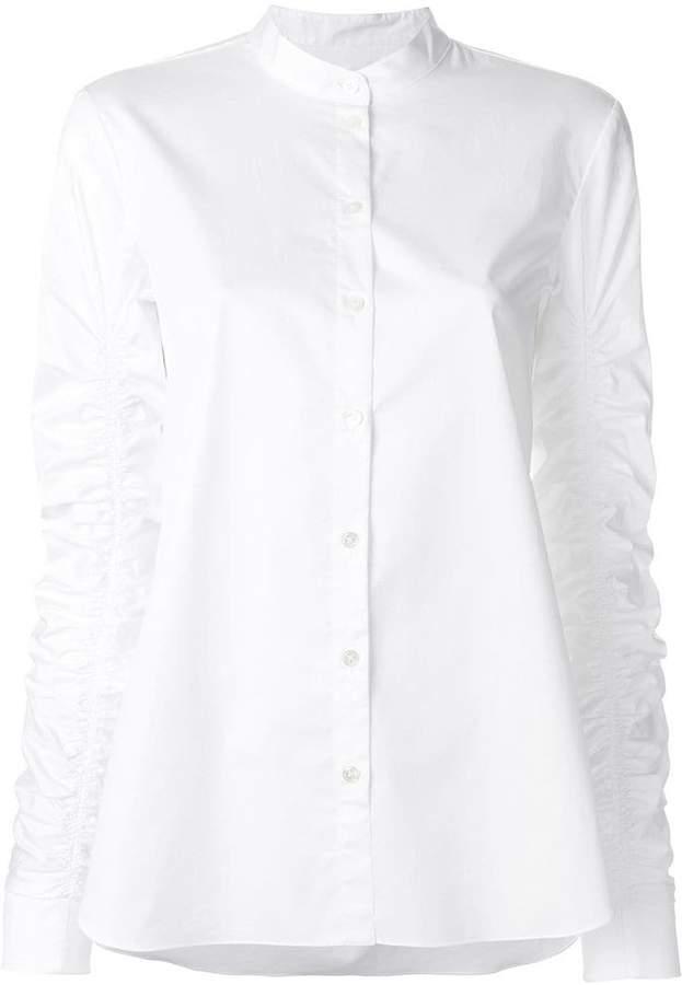 Tibi ruffle sleeve shirt