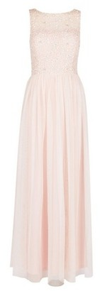Dorothy Perkins Womens Petite Blush 'Harper' Maxi Dress