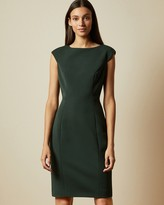 Ted Baker PELAGAI Boat neck midi dress