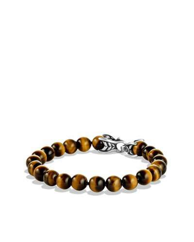 David Yurman Spiritual Beads Bracelet with Tiger's Eye