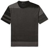 Issey Miyake Slim-fit Striped Birdseye-knit T-shirt