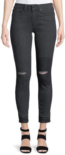 Derek Lam 10 Crosby Devi Authentic Skinny Distressed Jeans