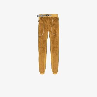 And Wander Yellow High Loft Fleece Sweatpants