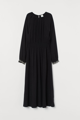 H&M Dress with Smocking - Black