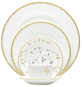 Vera Wang Wedgwood Gilded Leaf Place Setting (5 PC)