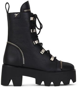 Giuseppe Zanotti Chunky Sole Combat Boots