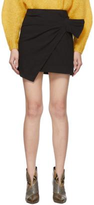 Isabel Marant Black Lyuba Miniskirt