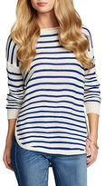 Jessica Simpson Misty Long Sleeve Cotton Sweater