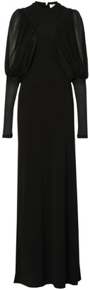 Burberry Juliet-Sleeved Gown