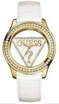 GUESS GUESS? Women's U10045L1 Leather Quartz Watch