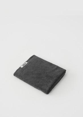 Tekla Terry Bath Towel Charcoal Grey