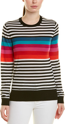Trina Turk Colette Wool Pullover