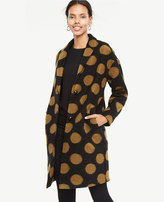 Ann Taylor Polka Dot Coat