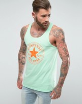 Converse Core Logo Tank In Green 10003693-A02