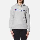 Champion Women's Hooded Sweatshirt Grey