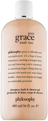 philosophy Pure Grace Nude Rose Shampoo, Bath, & Shower Gel