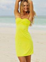 Twist-front Strapless Bra Top Dress