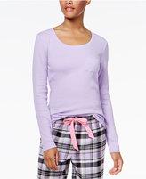 Jenni by Jennifer Moore Ribbed Pajama T-Shirt, Only at Macy's