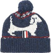Thom Browne Hector Browne Fairisle Mohair Bobble Hat