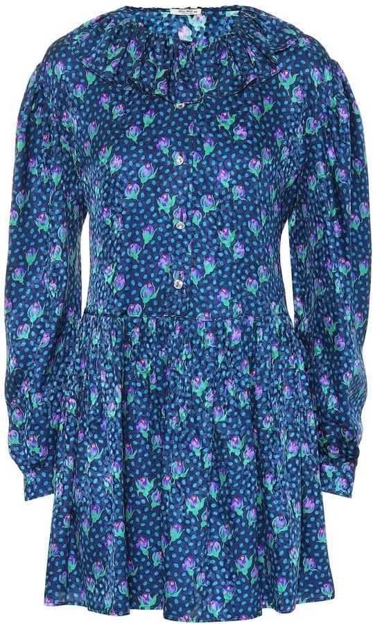 75ef02ca8f678 Miu Miu Blue Dresses - ShopStyle
