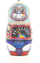 Judith Leiber Couture Robot Clutch