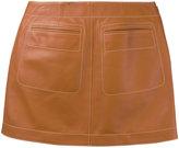Loewe mini skirt - women - Lamb Skin - 36