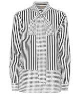 Burberry Striped and polka-dot cotton shirt