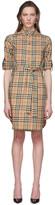 Burberry Beige Giovanna Shirt Dress