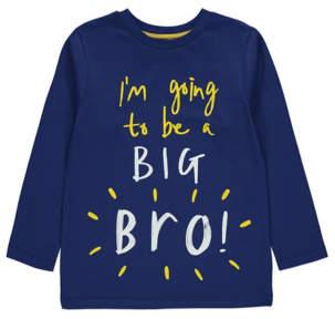 George Navy Big Bro Slogan Top
