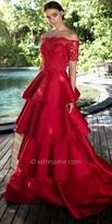 Tarik Ediz Talisa Evening Dress